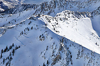 The Tram at the top of Snowbird Ski Resort