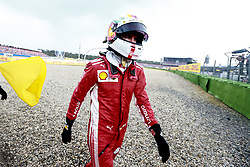 July 22, 2018 - Hockenheim, Germany - Motorsports: FIA Formula One World Championship 2018, Grand Prix of Germany, ..#5 Sebastian Vettel (GER, Scuderia Ferrari) (Credit Image: © Hoch Zwei via ZUMA Wire)