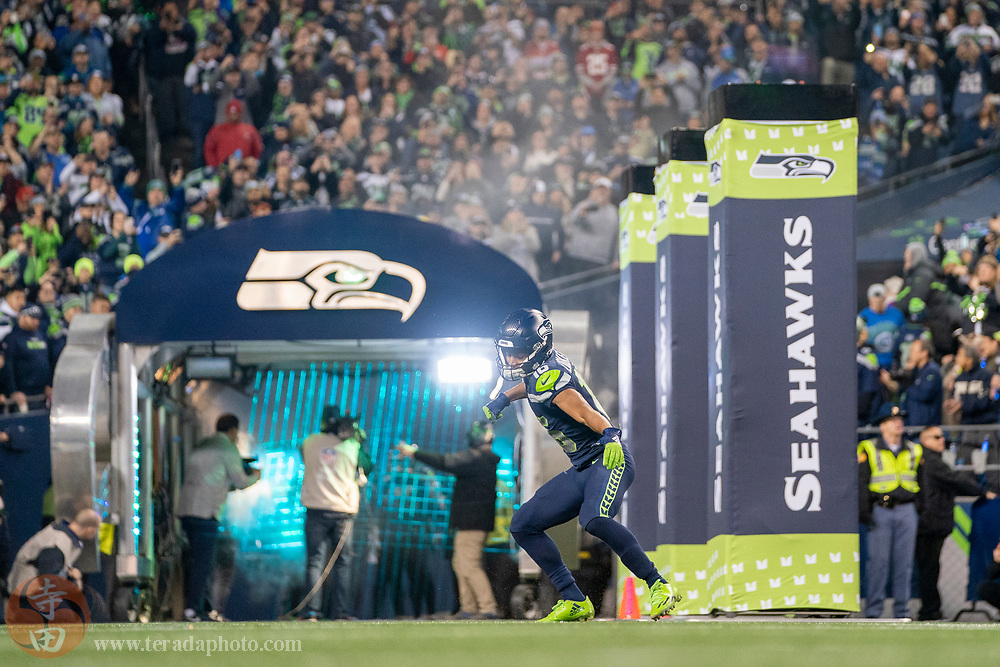 December 29, 2019; Seattle, Washington, USA; Seattle Seahawks wide receiver Tyler Lockett (16) before the game against the San Francisco 49ers at CenturyLink Field.