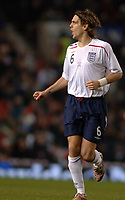 Photo: Paul Greenwood.<br />England v Spain. International Friendly. 07/02/2007. Englands Johnathan Woodgate in action