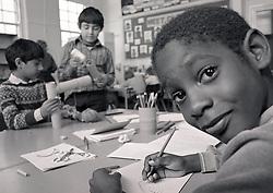Primary school Nottingham UK 1985