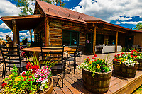 Lynn Britt Cabin, Snowmass Village (Aspen), Colorado USA.