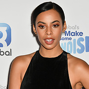 Rochelle Humes arrivers at the Global's Make Some Noise Night at Finsbury Square Marquee on 20 November 2018, London, UK.
