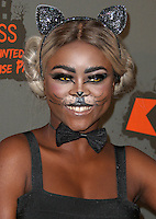 Gifty Louise, Kiss FM Haunted House Party 2016 - VIP Arrivals, The SSE Arena Wembley, London UK, 27 October 2016, Photo by Brett Cove
