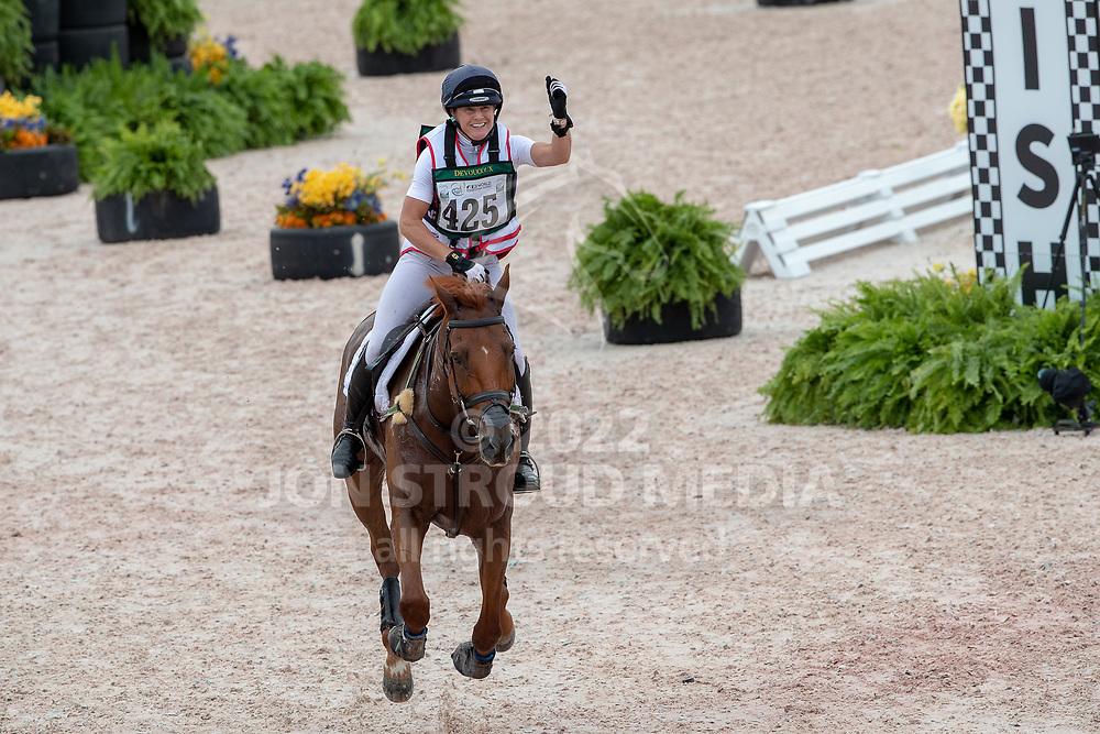 Piggy FRENCH (GBR) & QUARRYCREST ECHO - Eventing Cross Country - FEI World Equestrian Games™ Tryon 2018 - Tryon, North Carolina, USA - 15 September 2018