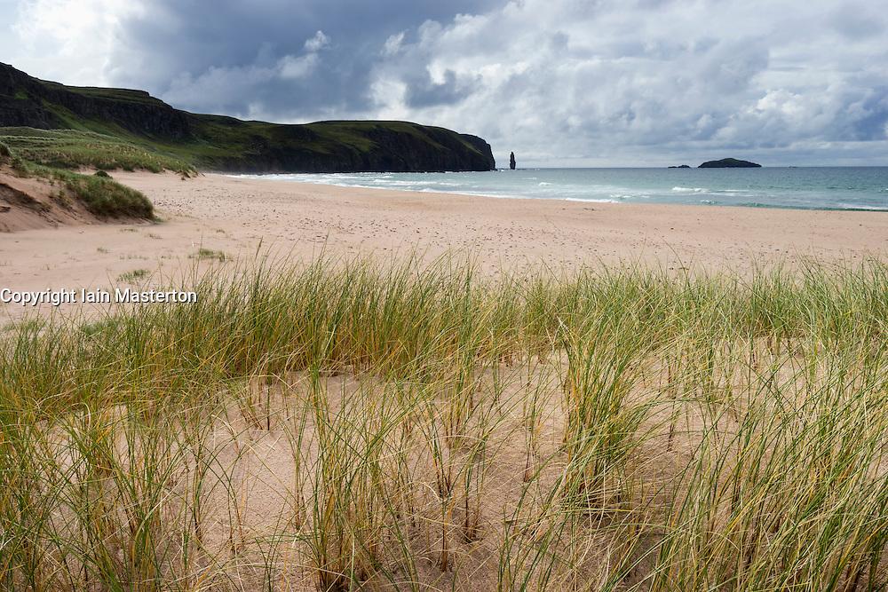 Sandwood Bay in Sutherland , Highland Region, Scotland United Kingdom
