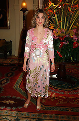 GEORGIE BARNABY at a fashion show of Sybil Stanislaus Summer 2005 collection with jewellery by Philippa Holland held at The Lanesborough Hotel, Hyde Park Corner, London on 13th April 2005.<br /><br />NON EXCLUSIVE - WORLD RIGHTS