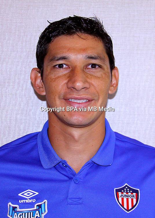 Colombia League - Liga Aguila 2015-2016 - <br /> Club Deportivo Junior de Barranquilla - Colombia / <br /> Roberto Andres Ovelar Maldonado