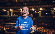 Editorial use only. No book publishing<br /> Mandatory Credit: Photo by Tom Dymond/Shutterstock (9700097d)<br /> Lost Voice Guy - Lost Voice Guy<br /> 'Britain's Got Talent' TV show, Series 12, Episode 13, Winner, London, UK - 04 Jun 2018