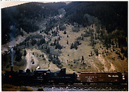 Box car #3279 with K-28 #478.<br /> D&RGW  Silverton, CO