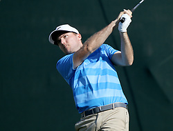 March 10, 2017 - Palm Harbor, Florida, U.S. - DOUGLAS R. CLIFFORD   |   Times.Russell Henley drives at #18 while playing in the second round of the Valspar Golf Championship at Innisbrook Resort and Golf Club's Copperhead Course on Thursday (3/9/17) in Palm Harbor. (Credit Image: © Douglas R. Clifford/Tampa Bay Times via ZUMA Wire)