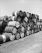 """Ackroyd 17251-4 """"Morton, Eakin, Cain & Corneil. Reimann & McKenney aerials. May 10, 1971"""" (Reimann & McKenney, drum plant, 3000 NW St. Helens Rd.)"""