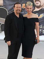 Ricky Gervais, David Brent: Life On The Road - World Film Premiere, Odeon Leicester Square, London UK, 10 August 2016, Photo by Brett D. Cove
