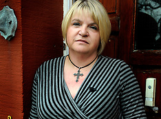 Sylvia Lancaster who`s daughter Sophie was beaten to death by youths in Bacup Lancashire.Sophie by