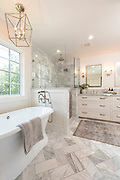 Master Bathroom interior photography by Brandon Alms Photography