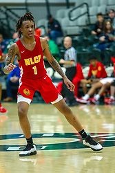 28 December 2019: State Farm Holiday Classic Coed Basketball Tournament , Normal-Bloomington Illinois<br /> <br /> North Lawndale College Prep (NLCP) v Rock Island Rocks boys basketball