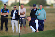 Thomas Plumb (GB&I) on the 5th during Day 2 Foursomes of the Walker Cup, Royal Liverpool Golf CLub, Hoylake, Cheshire, England. 08/09/2019.<br /> Picture Thos Caffrey / Golffile.ie<br /> <br /> All photo usage must carry mandatory copyright credit (© Golffile   Thos Caffrey)