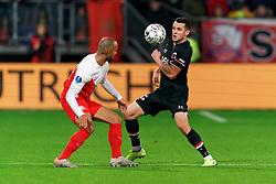 23-11-2019 NED: FC Utrecht - AZ Alkmaar, Utrecht<br /> Round 14 / Oussama Idrissi #11 of AZ Alkmaar, Sean Klaiber #17 of FC Utrecht