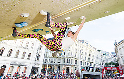 01.08.2015, Mariahilfer Straße, Wien, AUT, ISFC, Free Solo Masters MAHÜ, Finale, im Bild TEXT // during final of the ISFC Free Solo Masters MAHÜ at the Mariahilfer Strasse in Vienna, Austria on 2015/08/01. EXPA Pictures © 2015, PhotoCredit: EXPA/ Michael Gruber