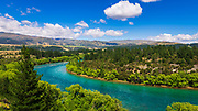 The Clutha River, Central Otago, South Island, New Zealand