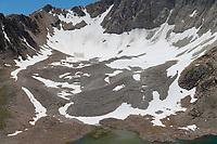 Rock glacier White Clouds Wilderness Idaho