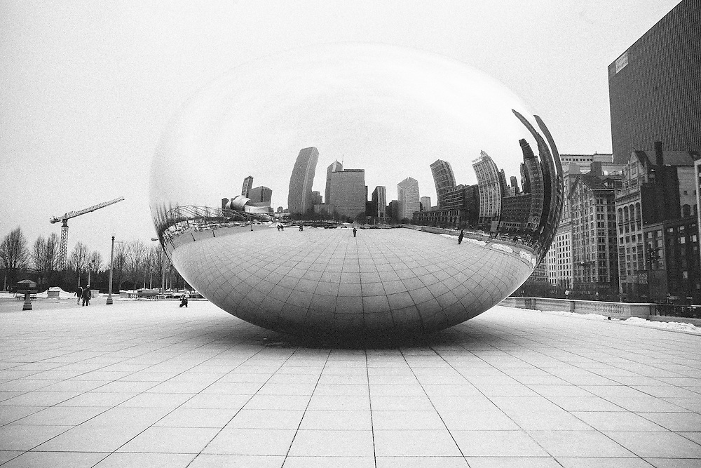 Cloud Gate Sculpture in Millennium Park