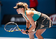 Eugenie Bouchard, 19, of Canada met Li Na of China in the Women's Singles semifinals of the 2014 Australian Open. <br /> Bouchard, the new teenage golden girl of women's tennis has won immense respect from players and fans as she has cruised through the field and become the first Canadian woman to reach the semifinals of the Open. Australian newspapers are comparing the marketability of Genie – as she is known – to Maria Sharapova, the top earner in women's sports.<br /> Li Na- Bouchard's senior by 12 years - won the match over Bouchard 6-2, 6-4.