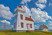 North Rustico Harbour lighthouse<br />North Rustico Harbour<br />Prince Edward Island<br />Canada