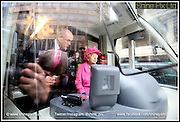 Picture by Shaun Fellows / Shine Pix Pictured is HRH The Queen at the unvailing of the new Centro Tram in Birmingham Bull St as part of her visit to Birmingham.