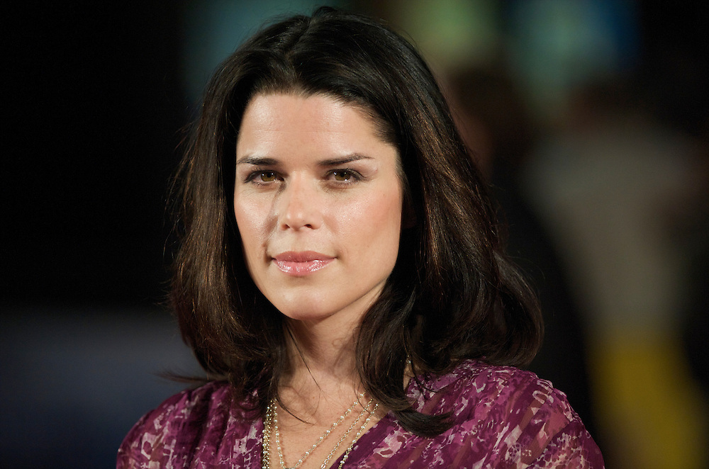 Actress Neve Campbell arrives at the premiere of 'The Men Who Stare at Goats' on Thursday night, October 15, 2009, at the Odeon, Leicester Square in London, as part of the 53rd BFI London Film Festival.