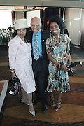 April 7, 2012 New York, NY: (L-R) Photographer Margo Jordan, Tuskeegee Airman Dr. Roscoe Brown and Actress Markita Prescott attend the 62nd Annual Women of Distinction Spirit Awards Luncheon & Fashion Show sponsored by The Links, Inc- Greater New York Chapter held at Pier Sixty at Chelsea Piers on April 7, 2012 in New York City...Established in 1946, The Links,  incorporated, is one of the nation's oldest and largest volunteer service of women, linked in friendship, are committed to enriching, sustaining and ensuring the culture and economic survival of African-American and persons of African descent . The Links Incorporated is a not-for-profit organization, which consists of nearly 12, 000 professional women of color in 272 located in 42 states, the District of Columbia and the Bahamas. (Photo by Terrence Jennings)