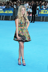 © Licensed to London News Pictures. 14/08/2013, UK. Anna Williamson,  We're The Millers UK film premiere, Odeon West End cinema Leicester Square, London UK, 14 August 2013. Photo credit : Richard Goldschmidt/Piqtured/LNP