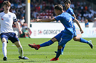 Nicol Fagioli of Italy (17) during the UEFA European Under 17 Championship 2018 match between England and Italy at the Banks's Stadium, Walsall, England on 7 May 2018. Picture by Mick Haynes.