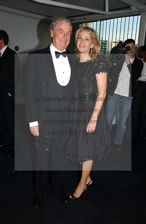 LORD & LADY BELL at the Fortune Forum Dinner held at Old Billingsgate, 1 Old Billingsgate Walk, 16 Lower Thames Street, London EC3R 6DX<br /><br />NON EXCLUSIVE - WORLD RIGHTS