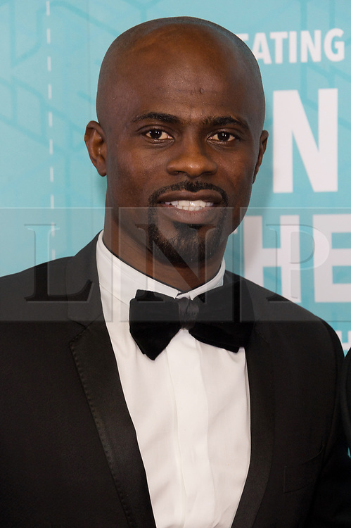© Licensed to London News Pictures. 17/11/2017.  London, UK. GEROGE BOATENG attends the Football For Peace Inaugural Ball held at Guildhall. Photo credit: Ray Tang/LNP