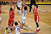Luca Vitali<br /> Nazionale Italiana Maschile Senior - 2019 Torneo dell'Acropoli<br /> Italia Italy Turchia Turkey<br /> FIP 2019<br /> Atene, 18/08/2019<br /> Foto GiulioCiamillo/Ciamillo