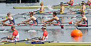 Eton. Great Britain. JM4X. morning repechage, competing at the Eton Rowing Centre 2011 FISA Junior  World Rowing Championships. Dorney Lake, Nr Windsor. Friday, 05/08/2011  [Mandatory credit: Peter Spurrier Intersport Images]