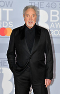 The 40th BRIT Awards show  Tuesday 18th February at The O2 Arena in London.<br /> Sir Tom Jones