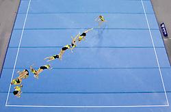 Valerija Grisane of Latvia competes in the Floor Exercise during Final day 2 of Artistic Gymnastics World Cup Ljubljana, on April 27, 2013, in Hala Tivoli, Ljubljana, Slovenia. (Photo By Vid Ponikvar / Sportida.com)