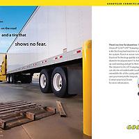 Goodyear, Duraseal ad, long haul trucking, trailer