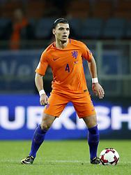 Karim Rekik of Holland during the FIFA World Cup 2018 qualifying match between Belarus and Netherlands on October 07, 2017 at Borisov Arena in Borisov,  Belarus