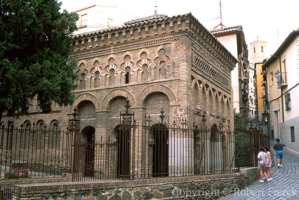 SPAIN, LA MANCHA, TOLEDO Santo Cristo de la Luz; Moorish