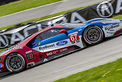 May 6, 2018 - Lexington, Ohio, United States of America - The Chip Ganassi Racing Ford GT car races through the turns during the the Acura Sports Car Challenge at Mid Ohio Sports Car Course in Lexington, Ohio. (Credit Image: © Walter G Arce Sr Asp Inc/ASP via ZUMA Wire)