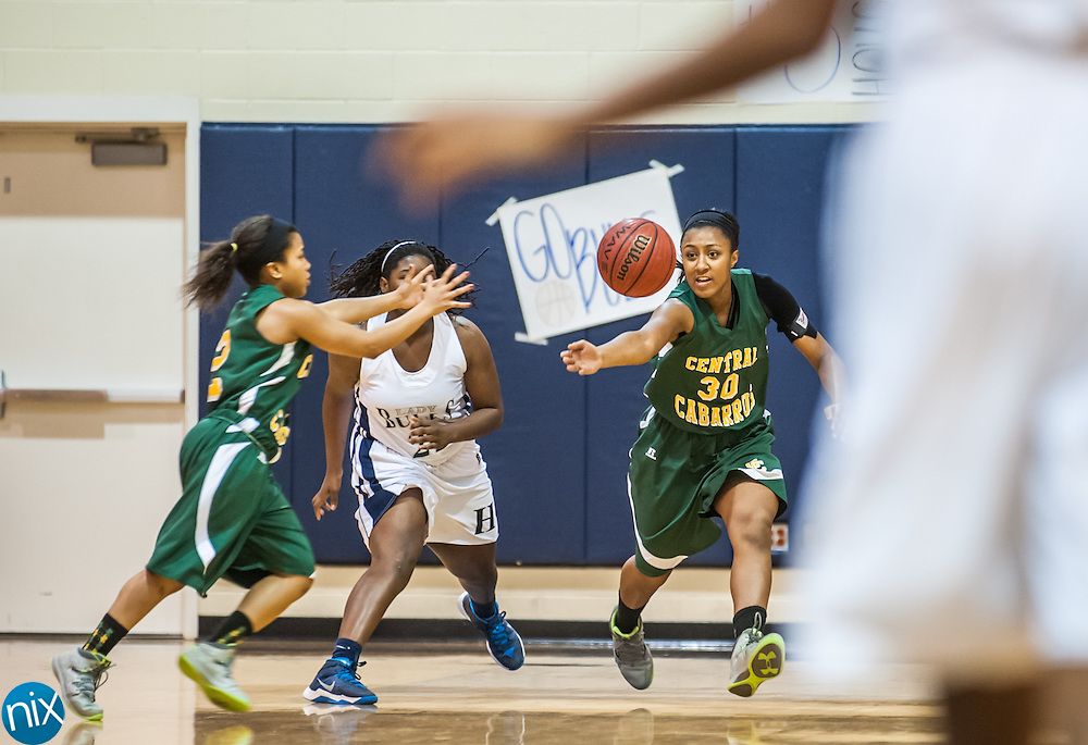 Hickory Ridge against Central Cabarrus Friday night at Hickory Ridge High School in Harrisburg. The Ragin' Bulls won the game 58-52.