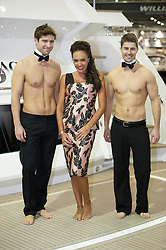 © Licensed to London News Pictures. 06/12/2010 London, UK. .Tamara Ecclestone opens the London Boat Show at the Excel Centre, London on board a new 28m Sunseeker Yacht. The UK's premier marine leisure event runs from 6th to 15th January 2012..Photo credit : Simon Jacobs/LNP