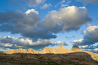 Evening clouds over Height-of-the-Rockies Provincial Park British Columbia Canada