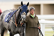 Fareeq ridden by Richard Kingscote and trained by Charlie Wallis in the F45 Bath No Contract Required Handicap race.  - Ryan Hiscott/JMP - 06/05/2019 - PR - Bath Racecourse- Bath, England - Kids Takeover Day - Monday 6th April 2019