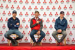 Nicholson Andrew, (NZL), Paget Jonathan (NZL), Bschorer Niklas, (GER)<br /> Presconference<br /> Mitsubishi Motors Badminton Horse Trials - Badminton 2015<br /> © Hippo Foto - Libby Law<br /> 07/05/15