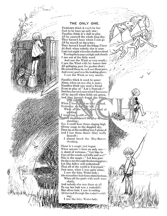 The Only One (illustrated poem).