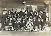 an old Ryotei style restaurant Yokosuka Japan 1930s